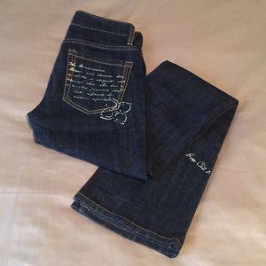 BCBG dark wash jeans